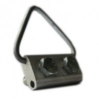 """The suspension clamp P0 for round cable and type """"8"""""""